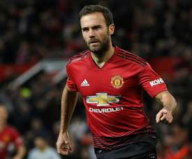 Juan Mata could be set to move to Galatasaray. AFP