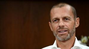 Aleksander Ceferin has ruled out the prospect of a Super League. AFP