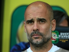 Guardiola still 'in love' with City players despite shock Norwich defeat.