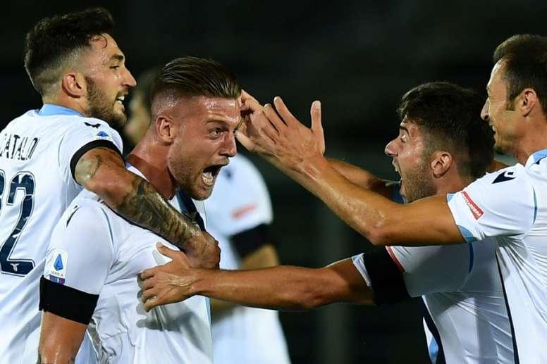 Atalanta beat Lazio. AFP