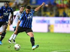 Luis Muriel é líder na lista de média de gols nas principais ligas europeias. AFP