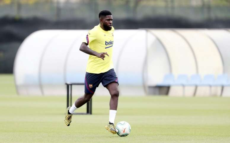 L'Inter dit oui à Umtiti, mais sous conditions. AFP