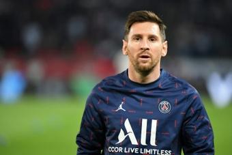 Messi anima o PSG.AFP