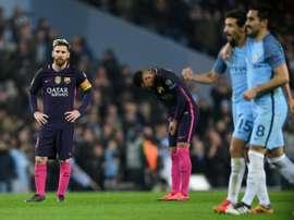 Gundogan rend hommage à Messi. AFP