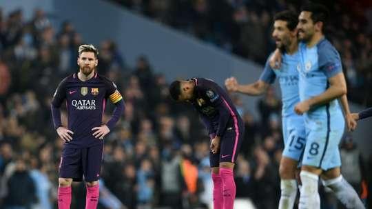 Messi, elogiado por Gündogan. AFP
