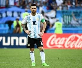 Messi de retour. AFP