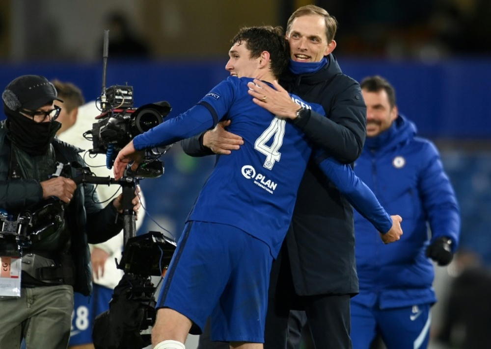 The Danish international wants to stay at Chelsea. AFP