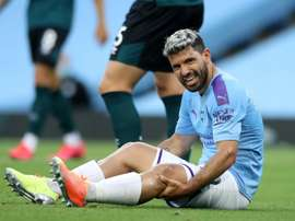 Agüero's contract could be extended by a year. AFP