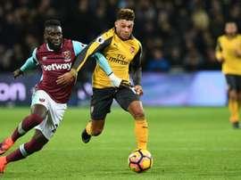 Masuaku abandonará el West Ham al final de la temporada. AFP