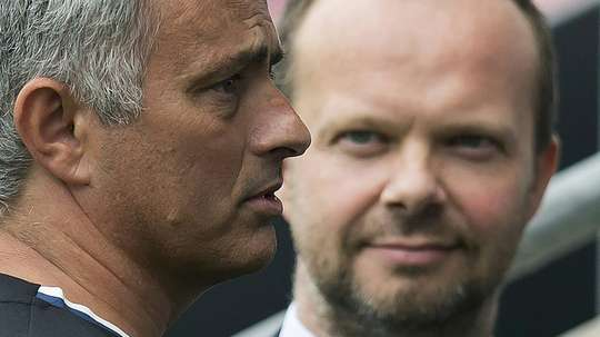 Woodward holds the power at Old Trafford. AFP