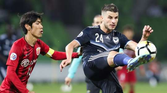 Victory defeated Shanghai SIPG. AFP