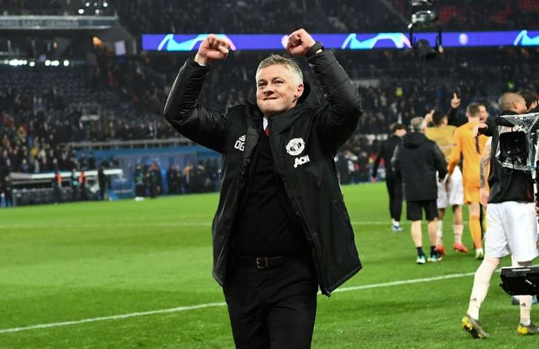 Solskjaer says Man Utd have quality to win Champions League. AFP