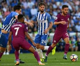 El City sigue vivo en la EFL Cup. AFP/Archivo