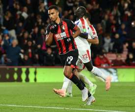 Junior Stanislas' penalty handed Bournemouth the three points against Crystal Palace. AFP