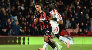El Bournemouth le hizo dos al Brighton. AFP/Archivo