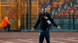 Al Ahly won in Morocco. AFP