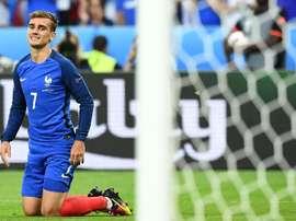 Griezmann n'a pas pu marquer face à Rui Patricio en finale de la dernière Euro. AFP