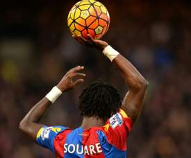 Left-back Souare made his comeback after a year out. AFP