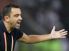 Xavi diz não ao Barcelona e deve assumir em junho. AFP