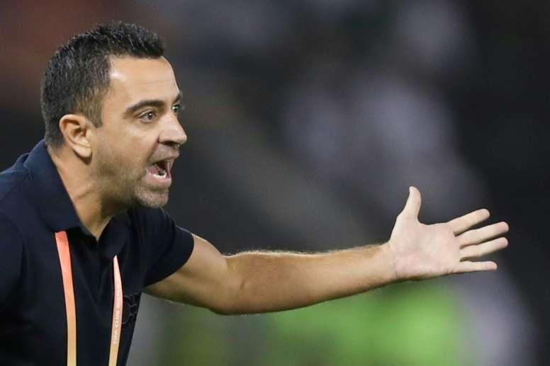 Xavi dice 'no' al Barça y llegará en junio. AFP