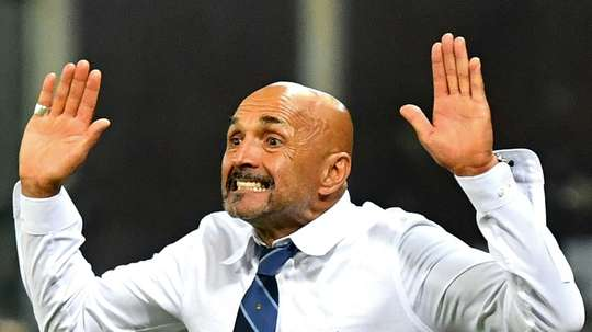 Spalletti has been penalised. AFP