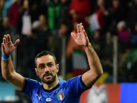 Quagliarella returns to make Italy history after stalker nightmare