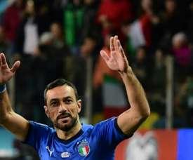 Aos 36 anos Quagliarella vive o melhor momento na sua carreira. AFP