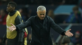 Mourinho dominated the headlines once again. AFP