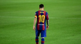 Eric Garcia could be part of deal involving Messi. AFP