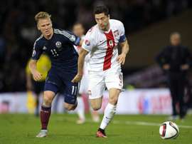 Ritchie pulled out of the Scotland squad. AFP