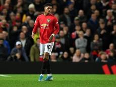 United lost 3-1. AFP
