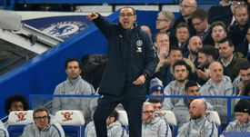 This defeat mounts the pressure on Maurizio Sarri. AFP