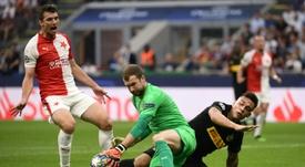 El fútbol checo volverá a finales de mayo. AFP
