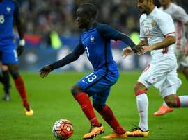 France's midfielder N'Golo Kante will be suspended for the quarter-finals. BeSoccer