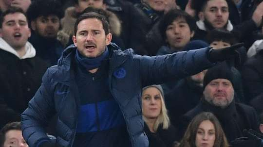 Frank Lampard says Chelsea need to sign players in January. AFP