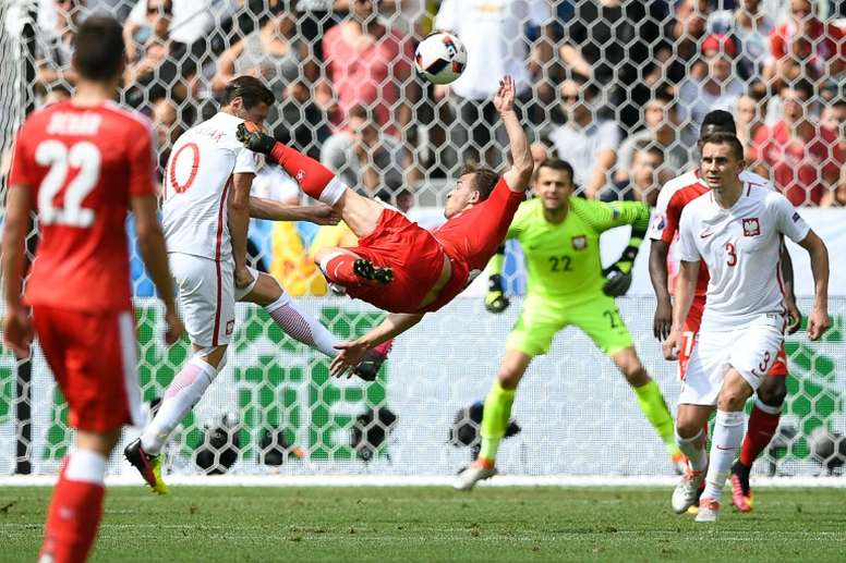Euro 2016 - Poland-Switzerland 1-1 after 90min, and into