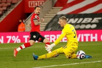 El Southampton venció 3-1 al Crystal Palace. AFP