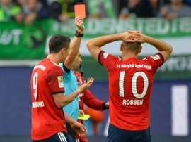Bayern Munich winger Arjen Robben. AFP