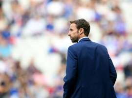 Southgate hopes England's young players are trusted by their clubs. AFP