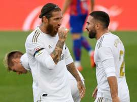 Ramos and Carvajal missed Real Madrid training. AFP