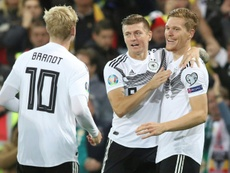 Relief for Germany as Gnabry seals narrow win in Belfast.