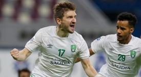 Marin fires Saudi's Al Ahli into Asian Champions League last 16. AFP