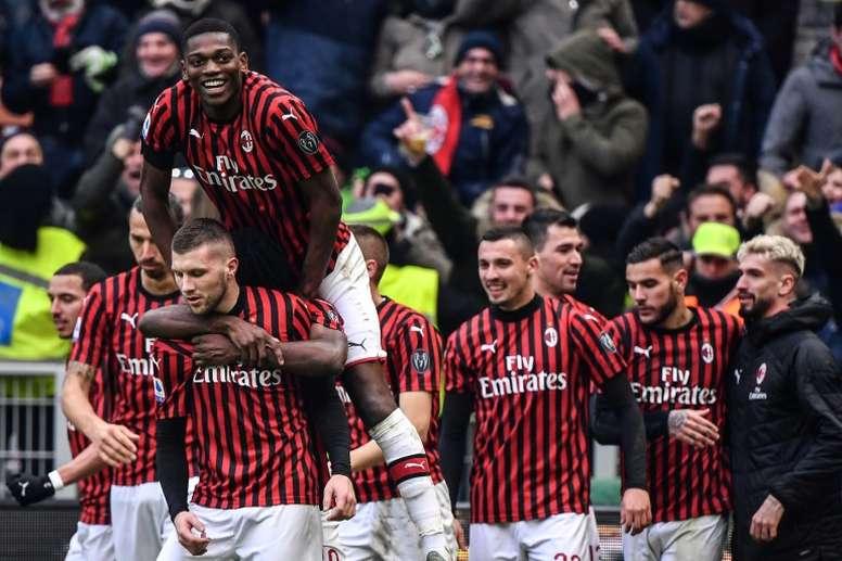 El Milan negociará el traspaso de Rebic. AFP