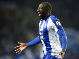 Moussa Marega marcou o segundo gol do Porto contra o Tondela. AFP
