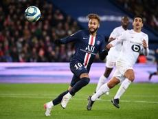 Icardi, Di Maria hand PSG victory on Neymar's latest return. AFP