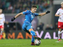 Kramaric has a 100 per cent record from the spot. AFP