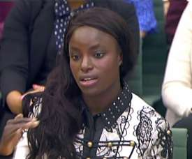 Eniola Aluko received an apology from the former England women manager. AFP