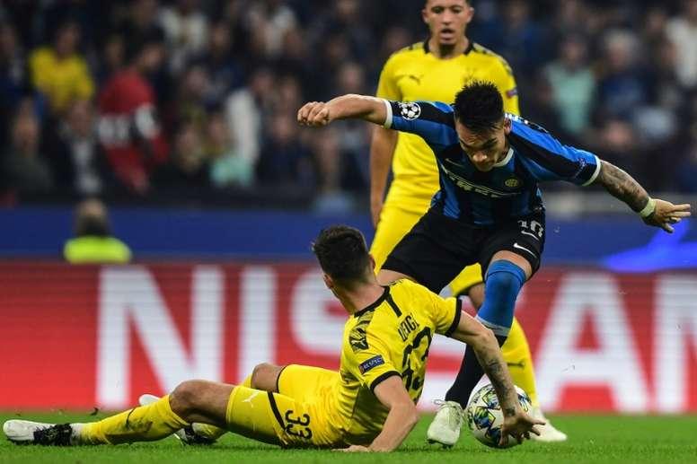Según Iván Zamorano, Lautaro no se irá al Barcelona. AFP