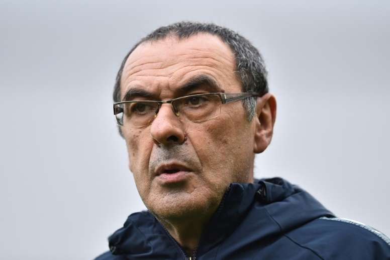 Maurizio Sarri was unsure on whether Eden Hazard would stay. AFP