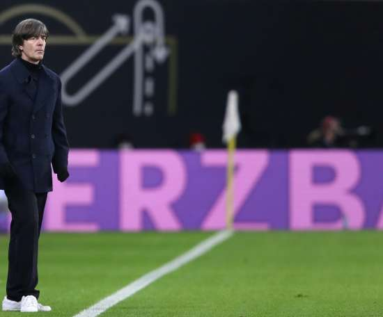 Joachim Low will stay on as Germany coach. AFP